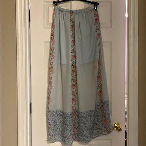 Peasant Maxi skirt